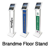 Branded iPad stand hire