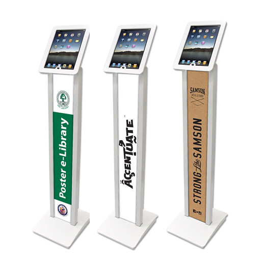 Ipad Exhibition Stand Hire : Brandable ipad floor stand hire
